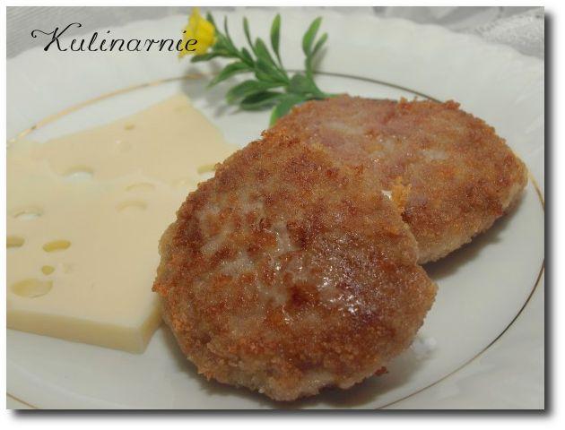 Ogl±dasz fotografie z Witryny Kulinarnej Mielone kotleciki z serem