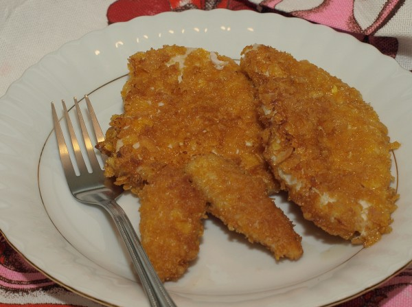 Ogl±dasz fotografie z Witryny Kulinarnej Kurczak w p³atkach kukurydzianych