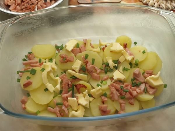 Ogl±dasz fotografie z Witryny Kulinarnej Zapiekanka ziemniaczana